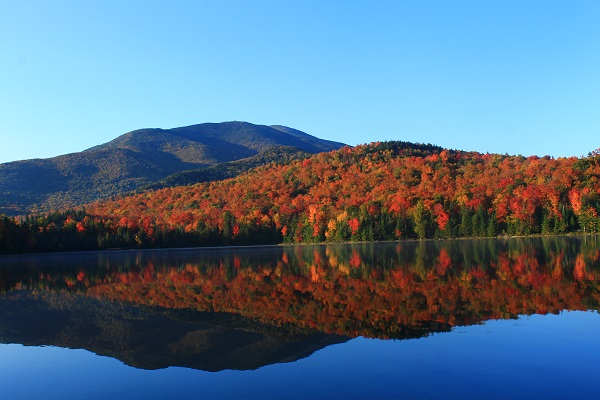 Hart Lake in the Adirondack Mountain Region